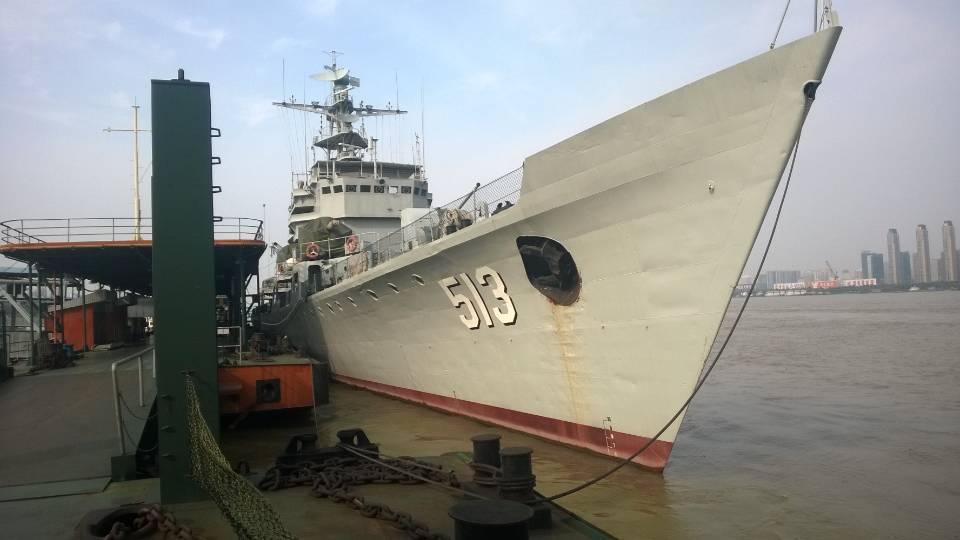 成威消防产品应用在军舰中的相关报道
